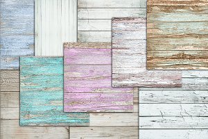 Pastel wood texture backgrounds