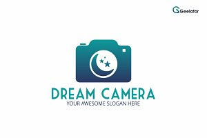 Dream Camera Logo Design