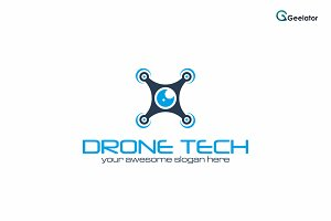 Drone Tech Logo Design