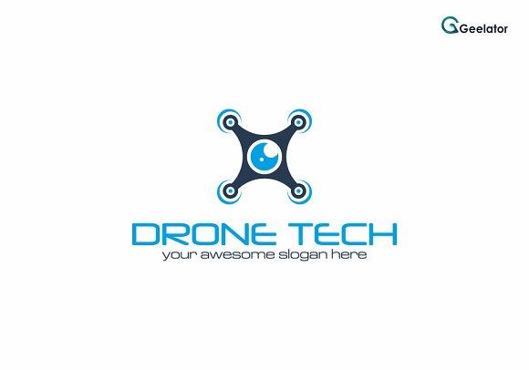 Drone Tech Logo Design