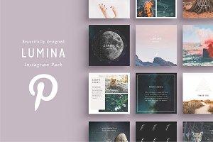 LUMINA Pinterest Pack