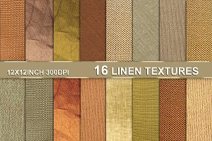 Linen Canvas Textile Burlap Texture