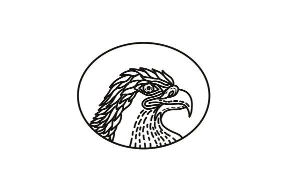 Eagle Head Side Mono Line