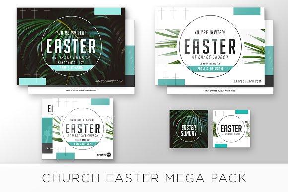Easter Sunday Church Mega Pack