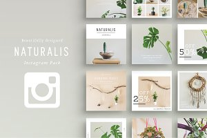 NATURALIS Instagram Pack