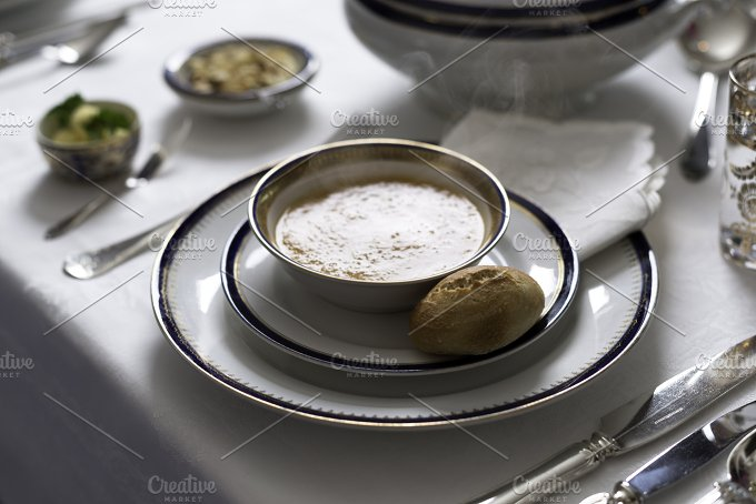 Hot soup - Food & Drink