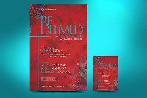 Redeemed Easter Flyer Poster
