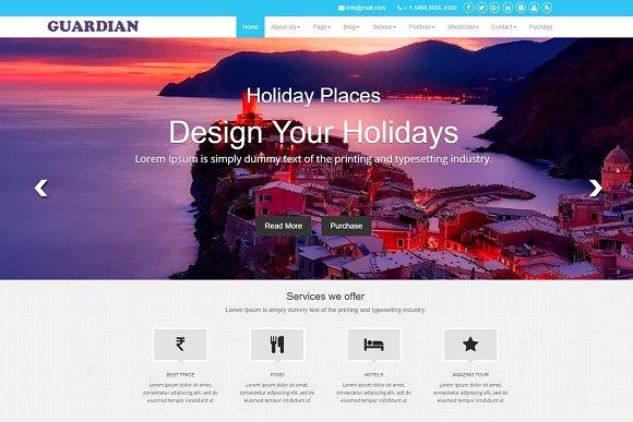 Guardian WordPress Theme