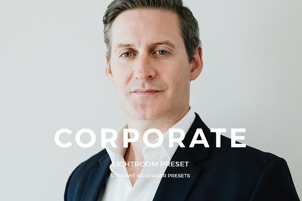 Corporate Headshot Lightroom Preset