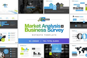 Business Survey Keynote Template