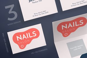 Business Cards | Nail Design Salon