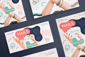 Flyers | Nail Design Salon