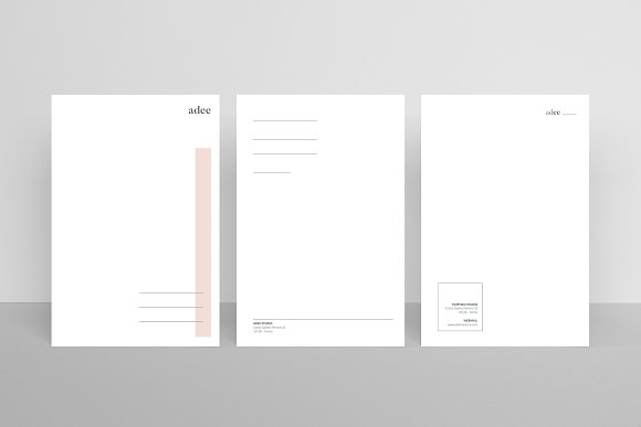 ADEE - Postcard Flyers in Card Templates - product preview 1
