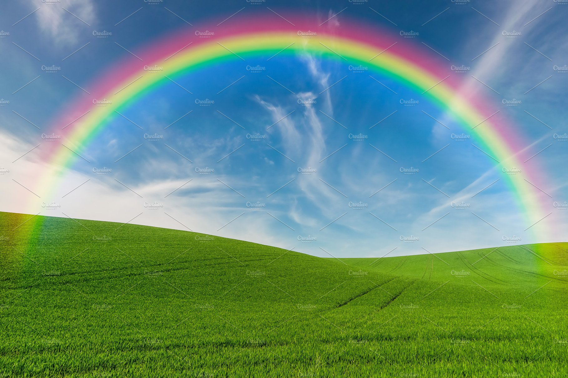rainbow field nature loans solve problems money today creative