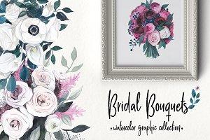 BRIDAL BOUQUETS: floral collection