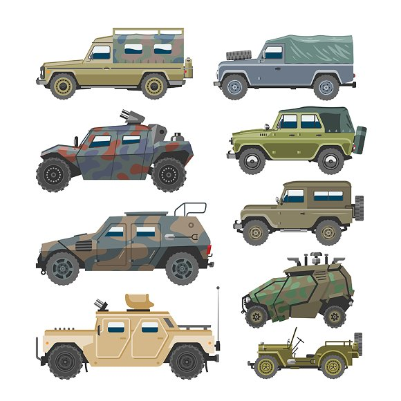 Military Vehicle Army Cars Transport