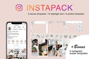 INSTAPACK all instagram templates