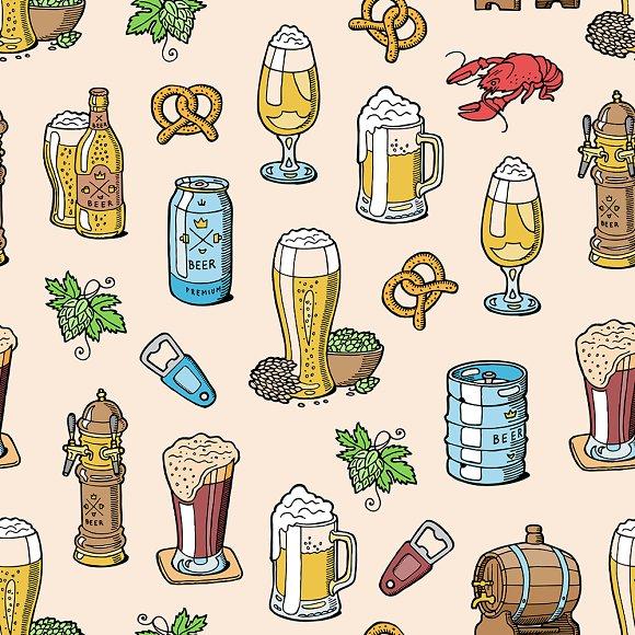 Beer Brewery Vector Beerhouse Mug