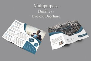 Multipurpose Tri-Fold Template