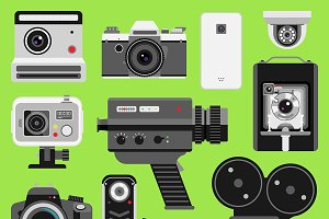 Photo video vector camera tools