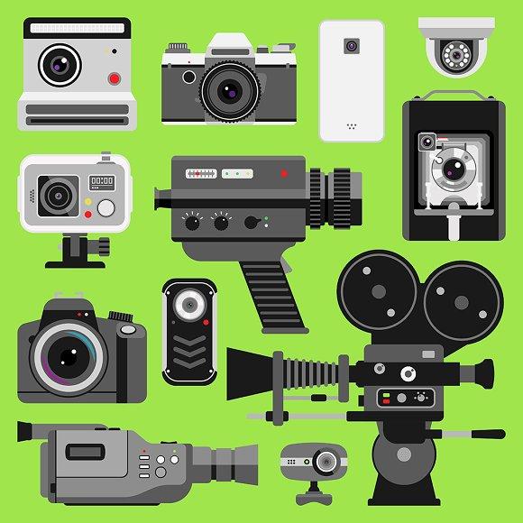Photo Video Vector Camera Tools