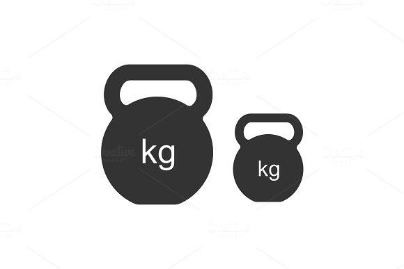 Kettlebells Glyph Icon