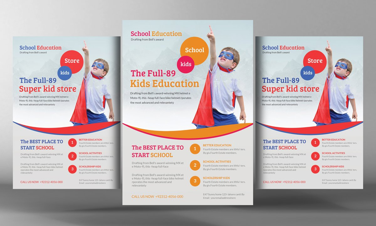 Sport Or Adventure Camp Flyers Flyer Templates Creative Market
