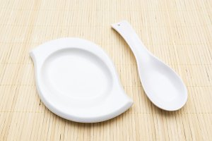 spoon, plate, cutlery, equipment, ki