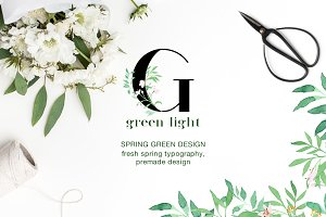 Green light - Fresh Spring Art
