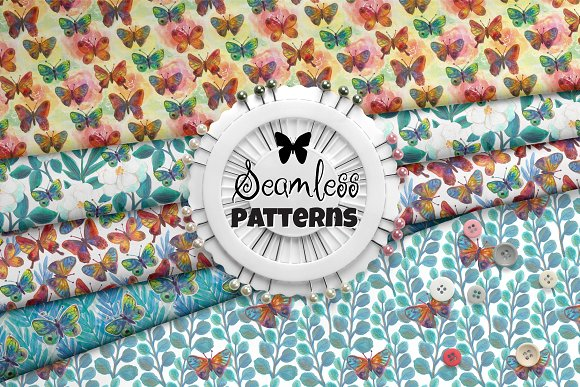 Fly Butterfly Pattern Collection