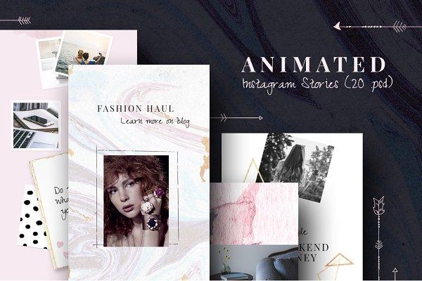 ANIMATED Instagram Stories-Boho chi…