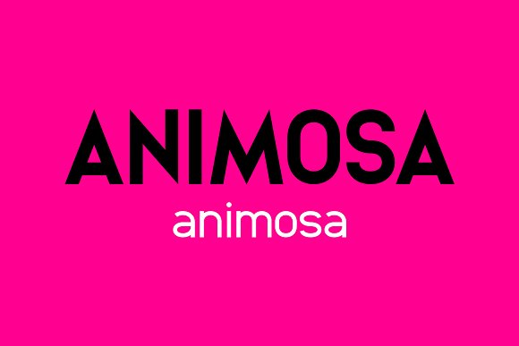 Animosa Font Family