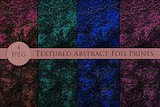 TEXTURED abstract foil print