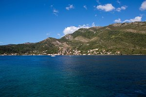 view of Boko Kotor Bay