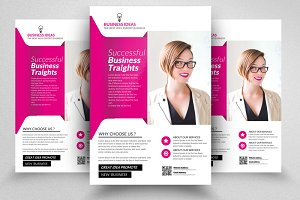 Business Analyst Flyer Templates