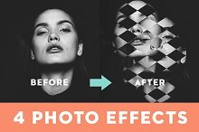 Poster Template – Geometric Effect