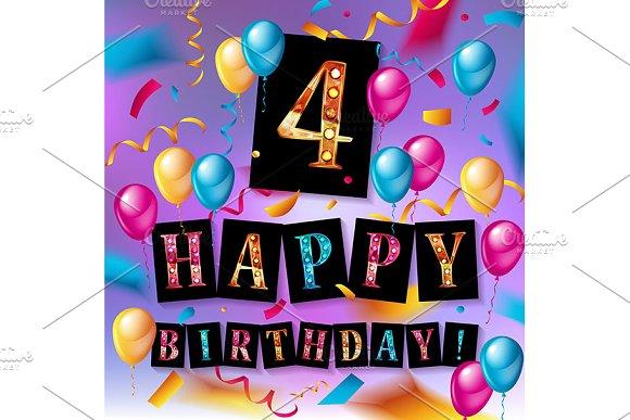 4th Years Anniversary Celebration