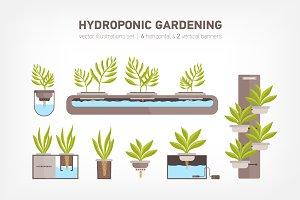 Hydroponic system, gardening