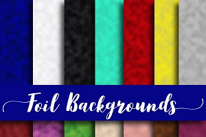 Foil Backgrounds