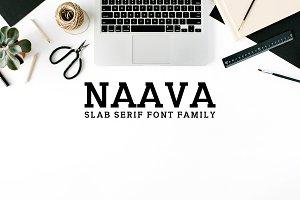 Naava A Slab Serif 3 Font Family