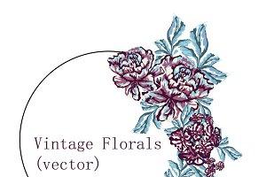 Vintage Vector Floral