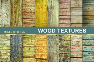 WOOD TEXTURES DISTRESSED BACKGROUNDS