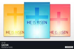 He is Risen. Church Posters/Flyers