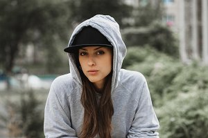 swag sporty brutal beautiful girl si