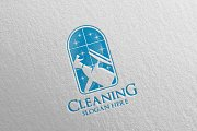 Cleaning Service Vector Logo Design