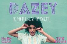 Dazey Display Font