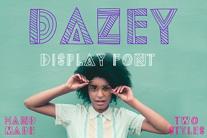 Dazey Display Font