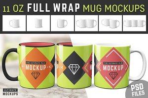 11 oz Mug Mockup Templates