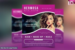Beauty Salon Flyer Template 02