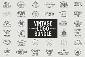 The ULTIMATE Vintage Logo Bundle